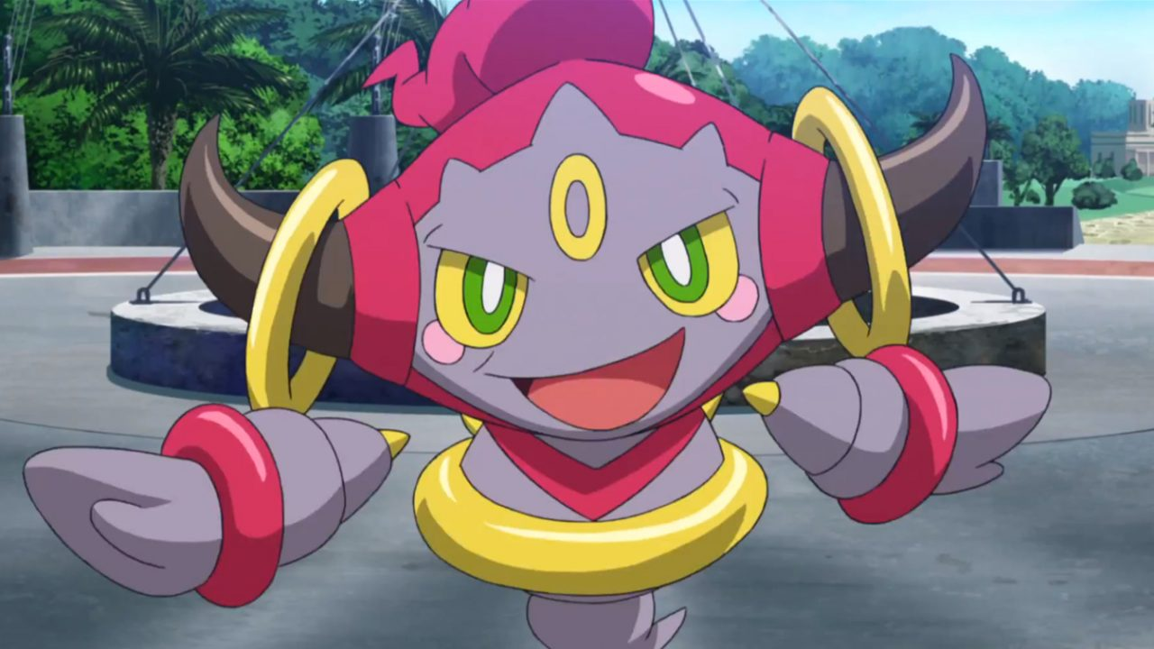 Get yourself a Hoopa via the Mystery Gift in Pokémon