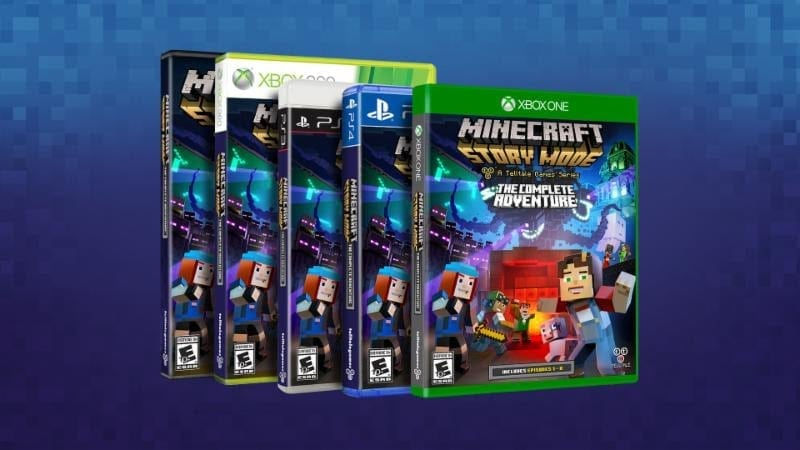 Minecraft: Story Mode – The Complete Adventure coming to retail