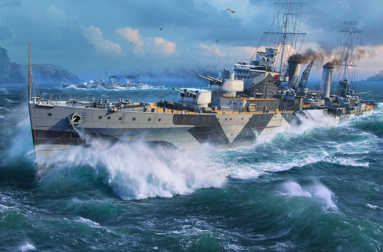 Wargaming on bringing the HMAS Perth to World of Warships