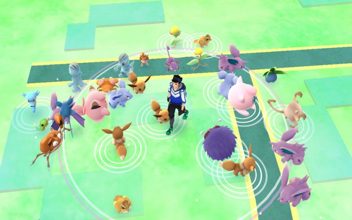Pokémon Go's weekly bonus is spawning tonnes of Pokémon