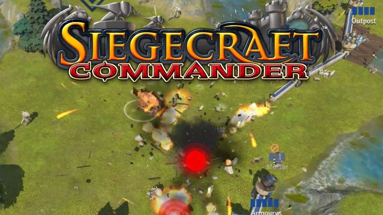 <h1> Siegecraft Commander <br> <h3> | Fling your base to victory