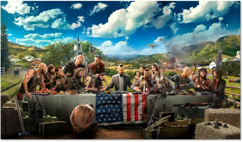 Everything we know (and suspect) about Far Cry 5 and its religious content