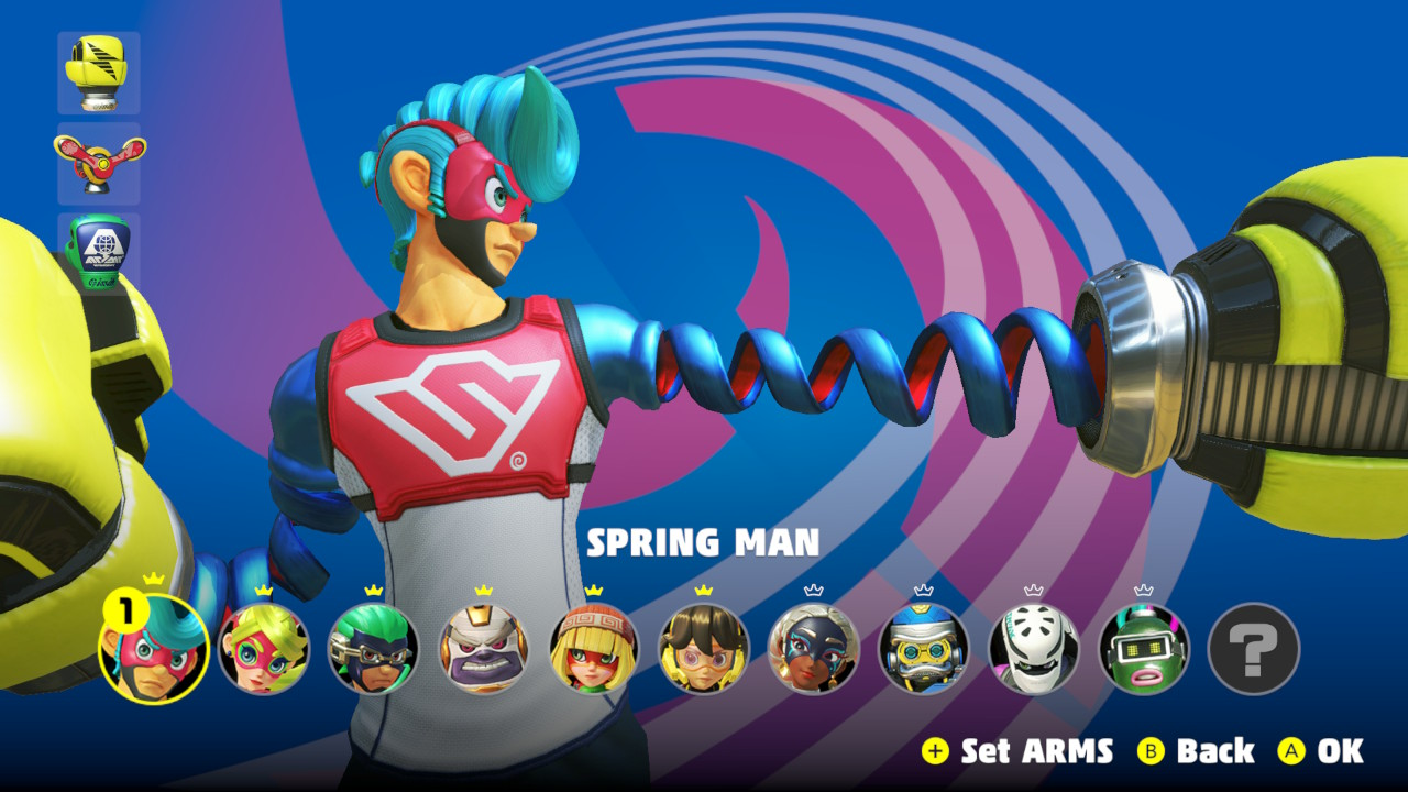 ARMS – Which Fighter on the Roster is best?