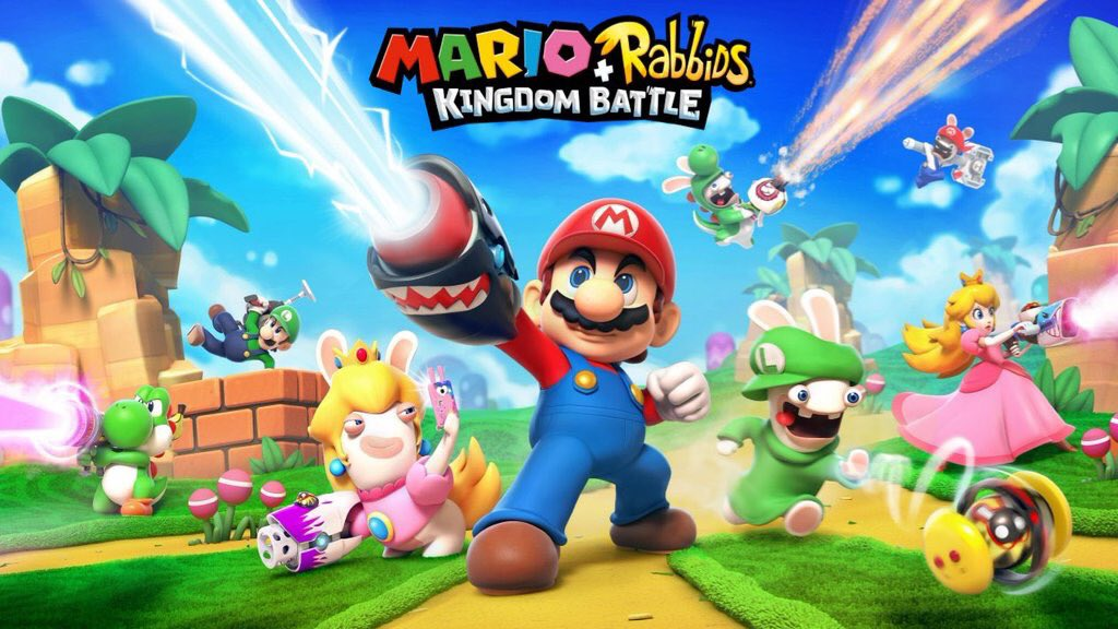<h1> Review &#8211; Mario + Rabbids Kingdom Battle <br> <h3> | Mashed Up
