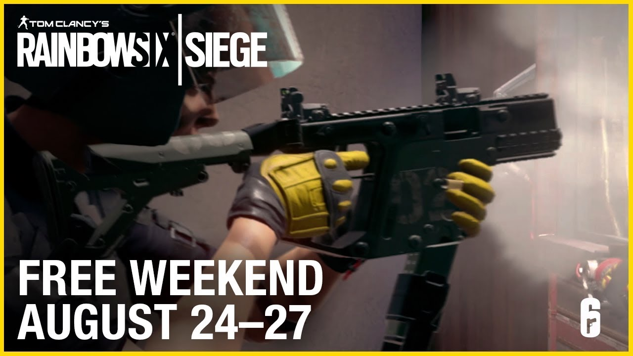 Rainbow Six: Siege is free this weekend