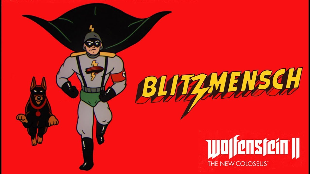 Say hello to the Nazi Batman, Blitzmensch