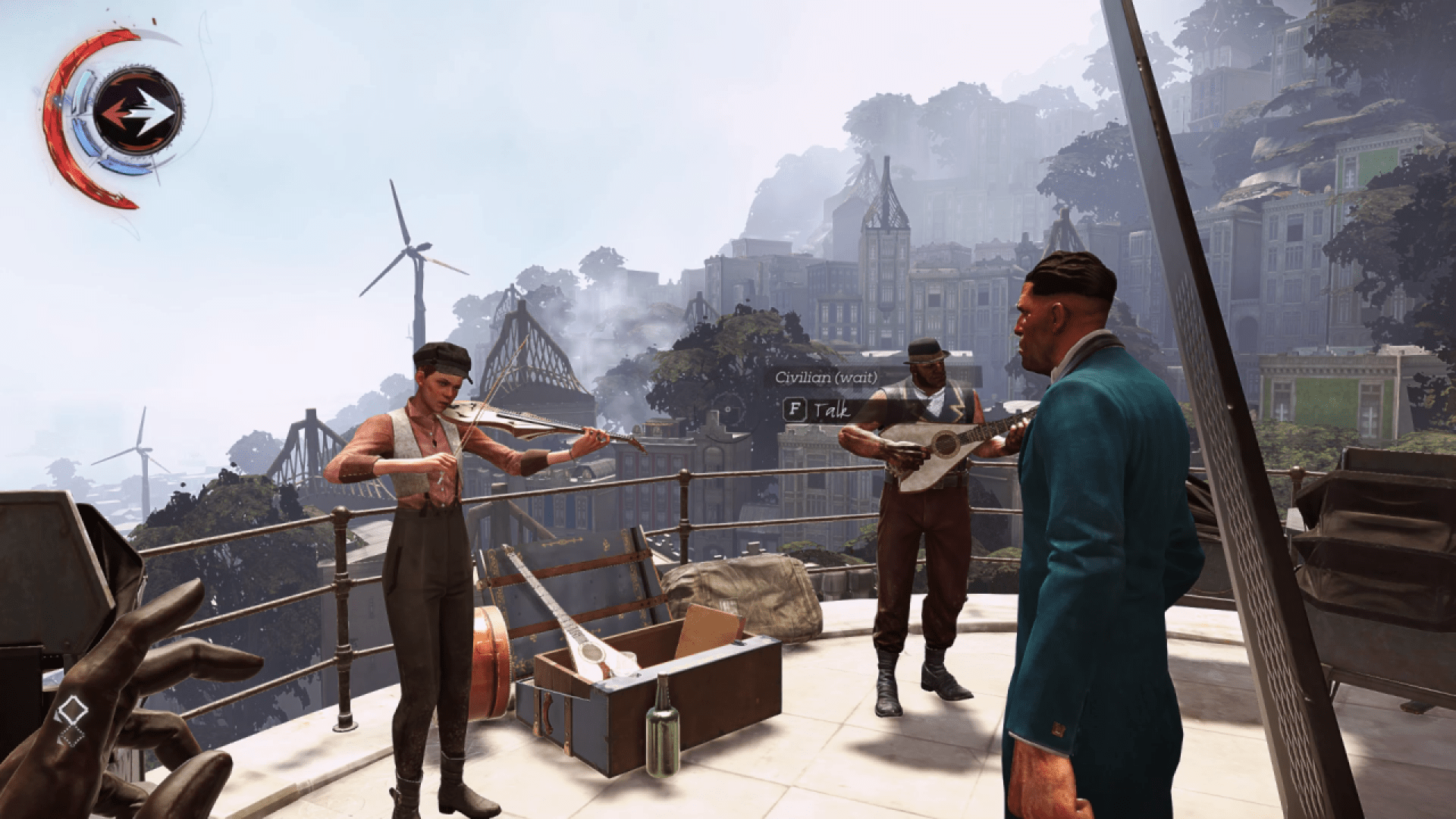 Dishonored Death Of The Outsider How To Kidnap The Bartender