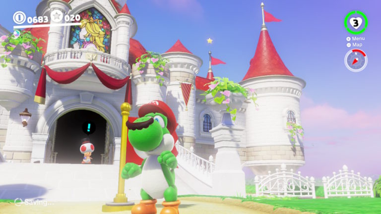 Super Mario Odyssey Guide How To Find Yoshi Powerup