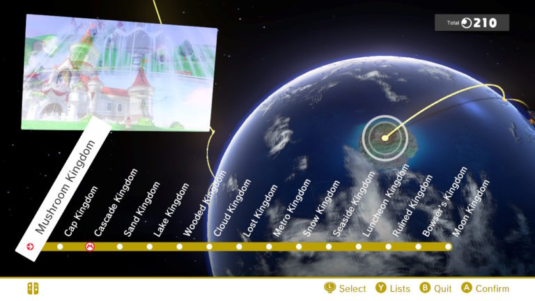 Super Mario Odyssey Guide - How many worlds are there in the game