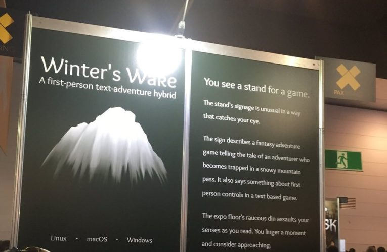 Hands on with Winter's Wake Preview
