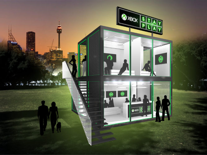 Xbox Australia announces free boutique sleepover experience hotel Xbox Stay n' Play