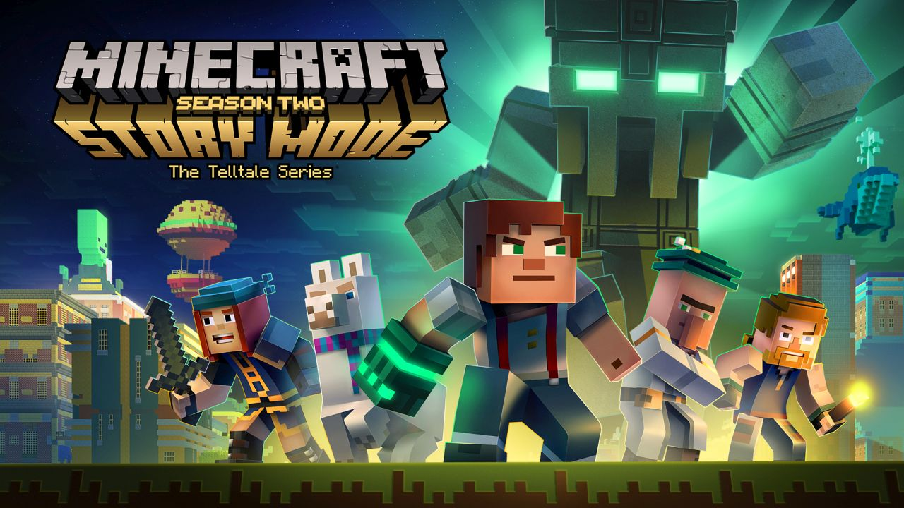 Review Minecraft Story Mode Season 2 Episode 1 Powerup