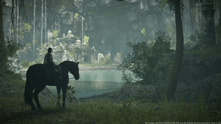 Bluepoint Remaking Another Game Following Shadow of the Colossus's Success