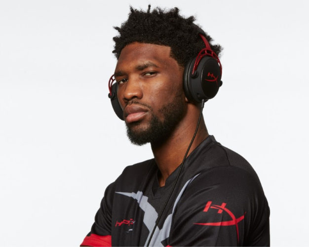 Philadelphia 76ers' and NBA All-Star Joel Embiid announced as HyperX Brand Ambassador