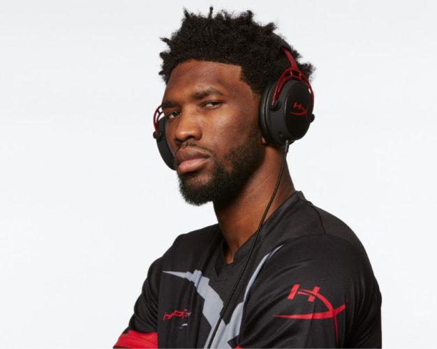 Philadelphia 76ers' and NBA All-Star Joel Embiid announced as HyperX Brand Ambassador