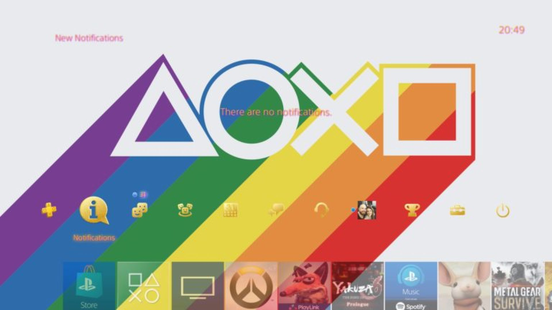 PlayStation Australia has a free PS4 Pride theme to