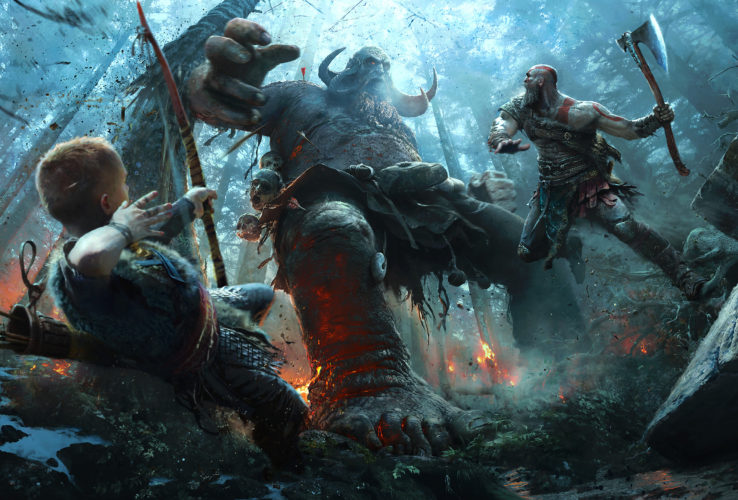 God of War optimized for 1080p performance on PS4 Pro