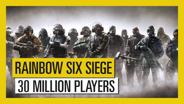 Ubisoft celebrates Rainbow 6 Siege 30 million players