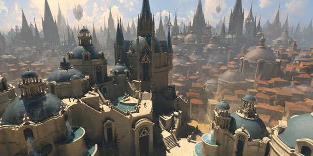 Magic the Gathering and D&D crossover Guildemasters' Guide to Ravnica leaked by Amazon