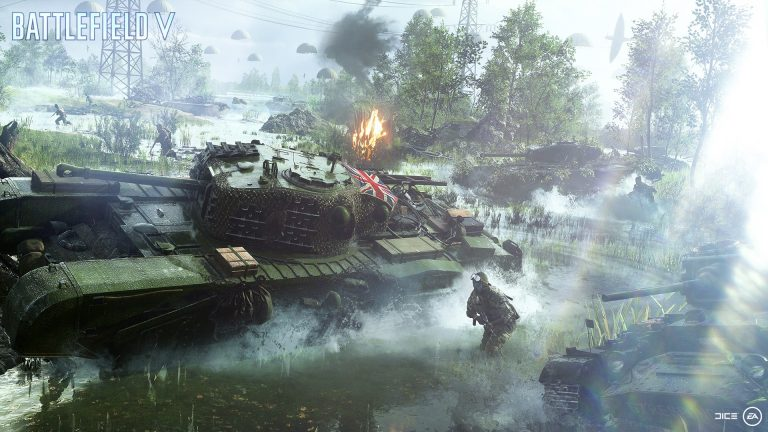 Jump into the Battlefield V beta next month