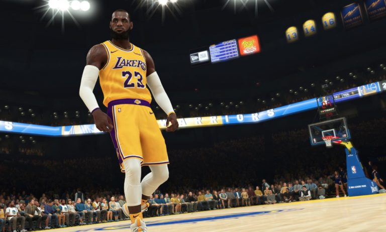 The sound effects in NBA 2K19 are different based on which arena you play in