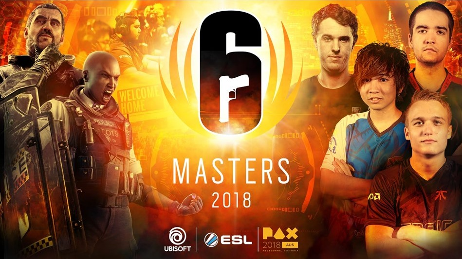 Rainbow Six Siege's Six Masters 2018 to take place at PAX Aus 2018