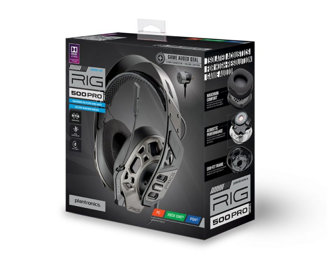 Plantronics RIG 500 PRO Esports Edition Universal High-Resolution Gaming  Headset
