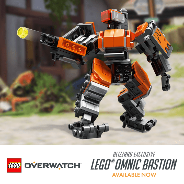 LEGO Bastion is now available exclusively from Blizzard