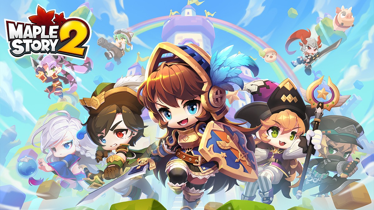 MapleStory 2 is now available