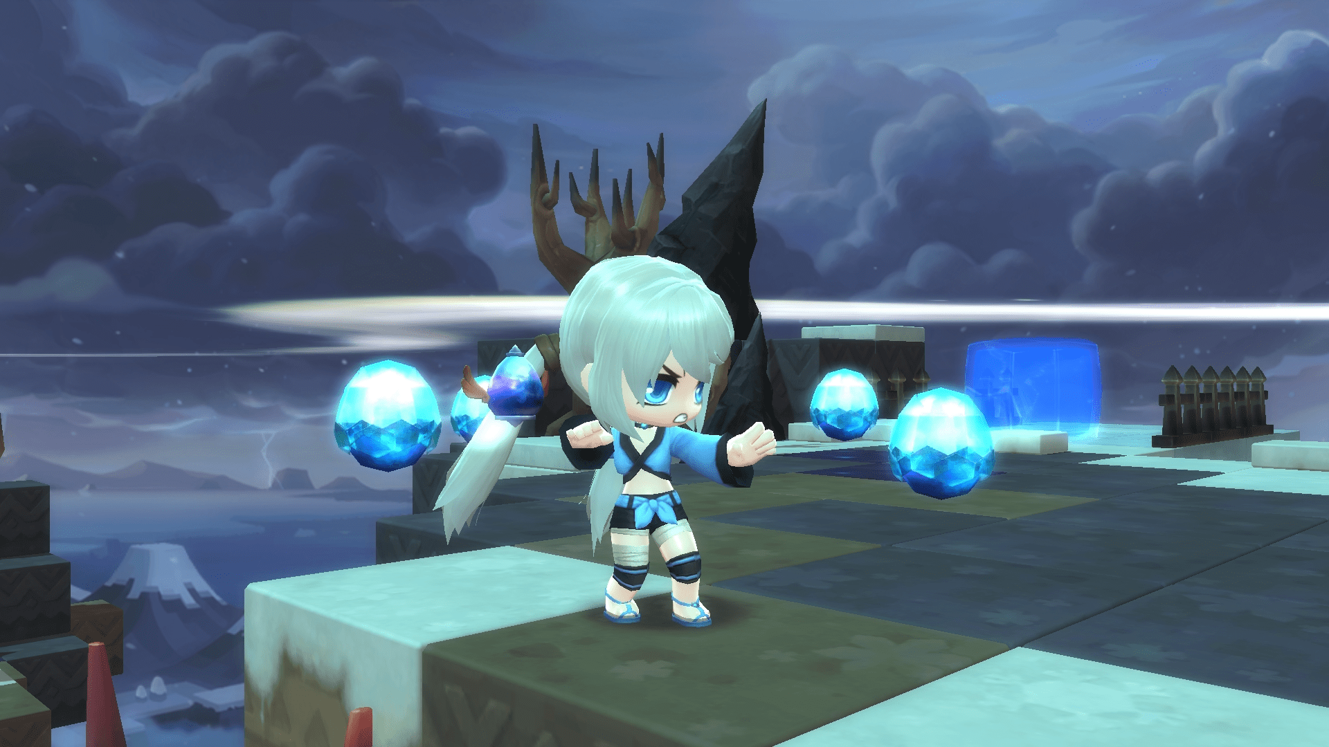 MapleStory 2 heads to the clouds in the Skybound Expansion