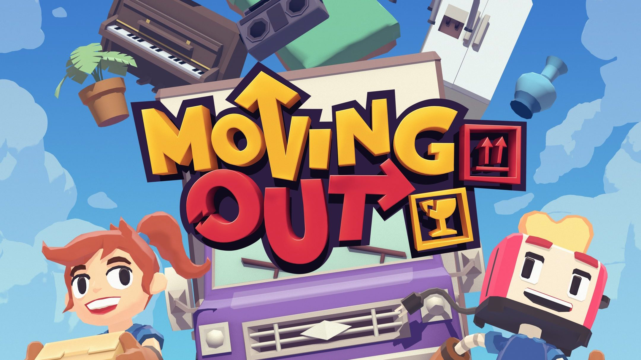 Moving Out is an 80s-themed chaotic co-op game from Australian SMG Studio