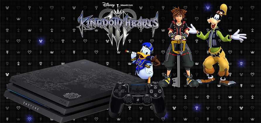 You can pre-order the Kingdom Hearts 3 PS4 Pro at JB Hi-Fi right now