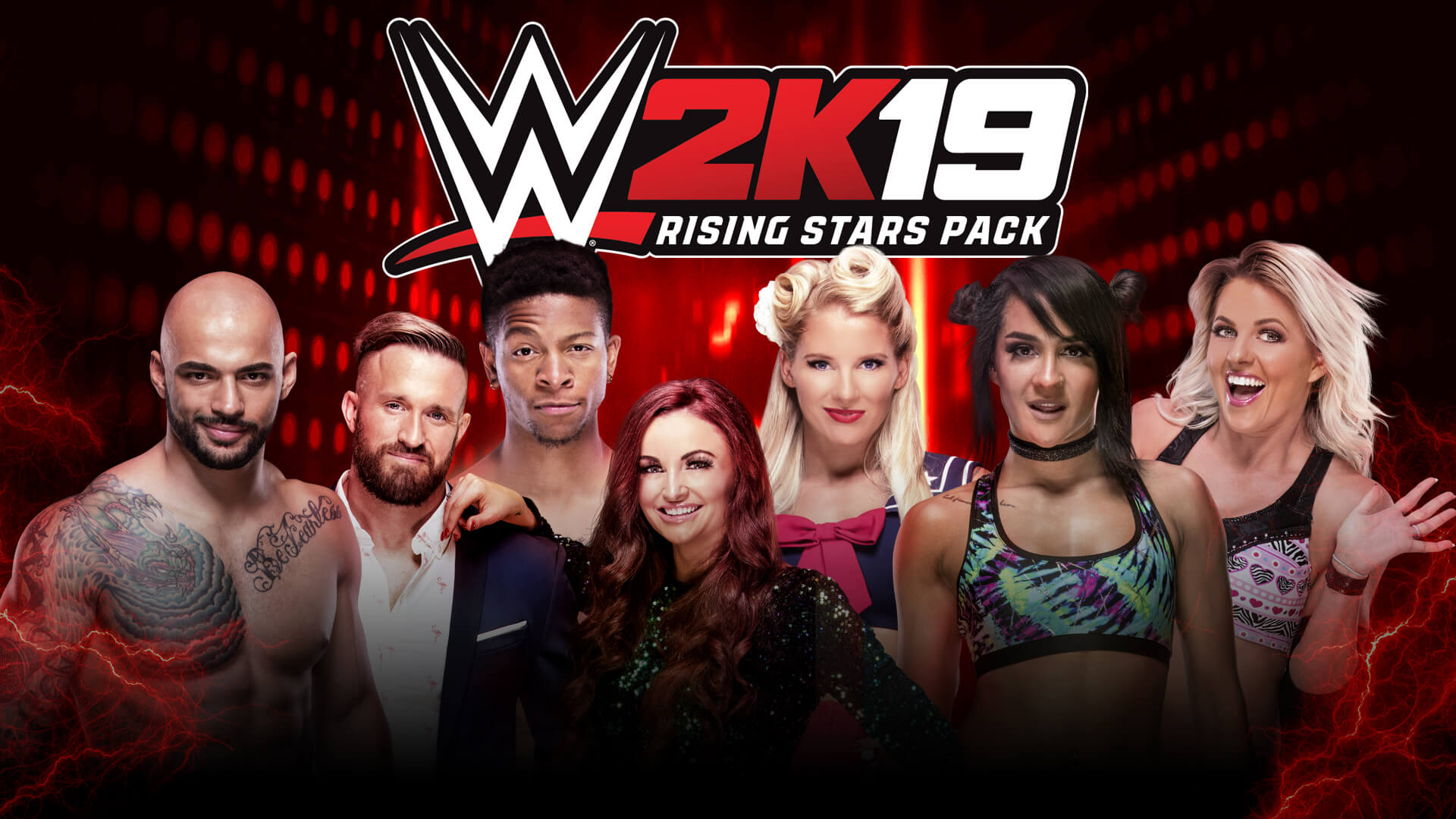WWE's Rising Stars come to WWE 2K19 in the latest DLC