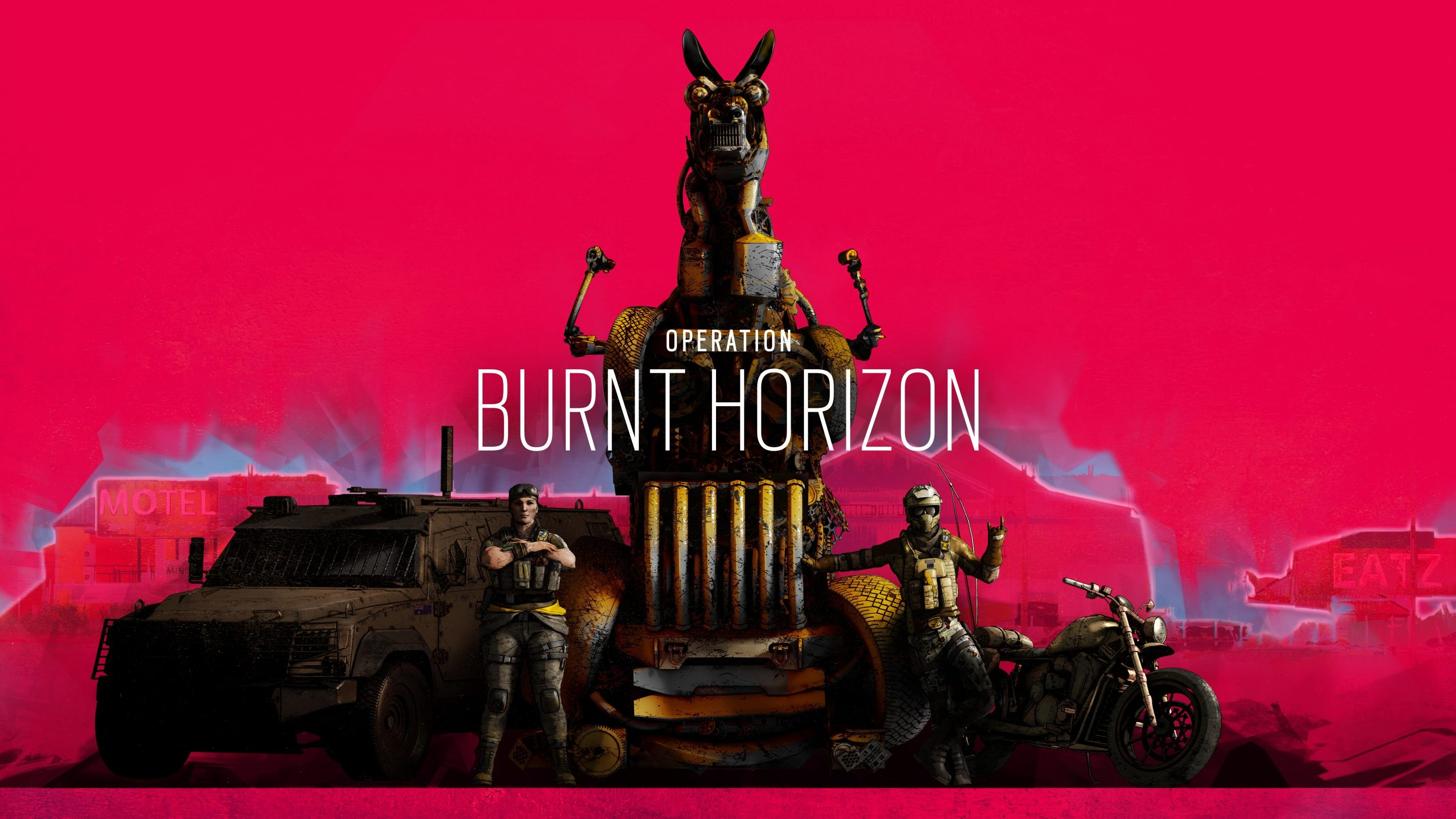 Oi Ya Bloody Drongos, Rainbow Six Siege Operation Burnt Horizon is available now