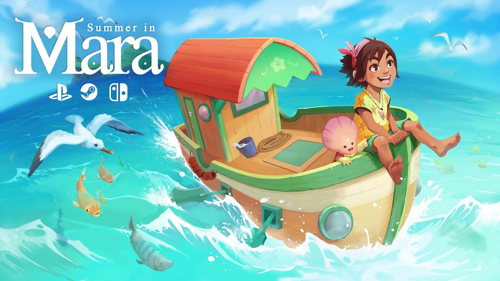Summer in Mara is coming to PC, PS4 and Switch