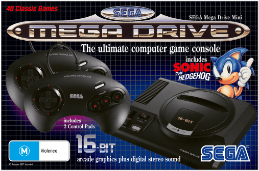 10 More Games Announced for the SEGA Mega Drive Mini