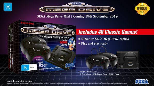 SEGA Mega Drive Mini coming in September