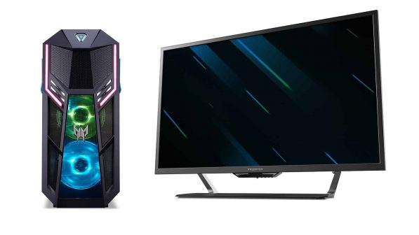 Acer's New Predator Orion 5000 and 43-inch LFGD Gaming Monitor Are Perfect for Each Other