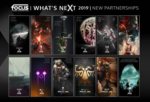 Focus Home Interactive has announced 12 new partnerships