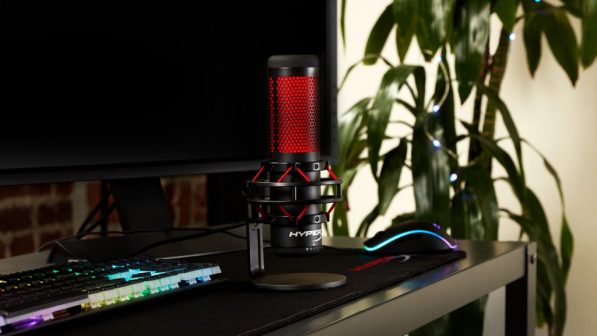 HyperX Quadcast streaming and casting microphone launches in Australia this month