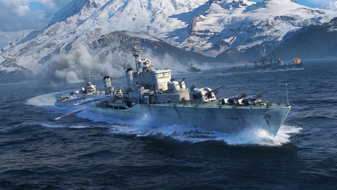 European Destroyers Are Heading Toward World Of Warships Powerup