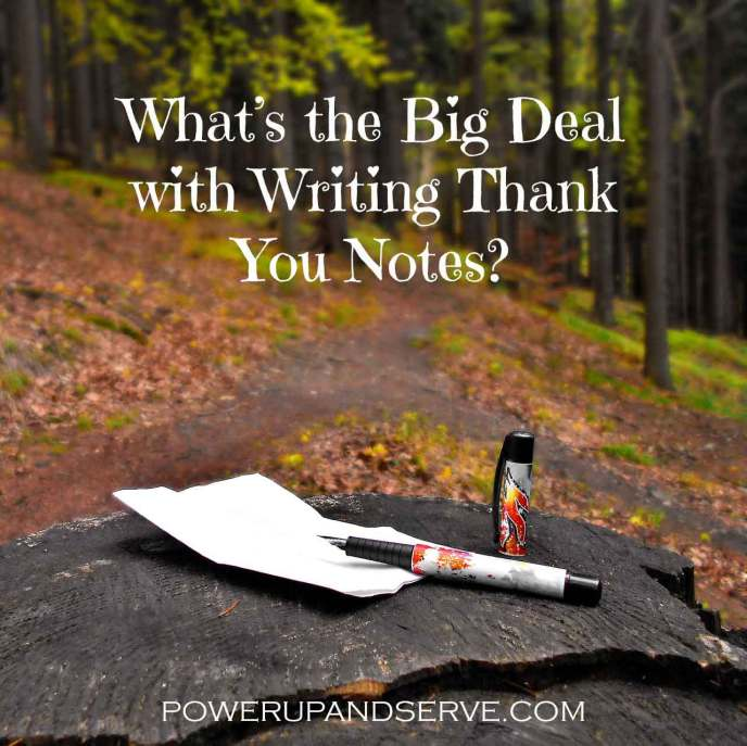 What's the Big Deal with Writing Thank You Notes? Discover why handwritten cards are an important way to express love and gratitude.