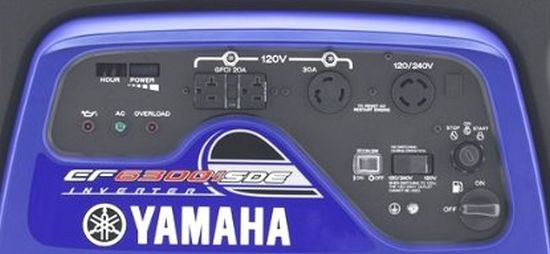 Yamaha ef6300isde control panel?resize=350%2C200 yamaha ef4500ise inverter portable generator review power up Yamaha EF2400iS Craigslist at alyssarenee.co