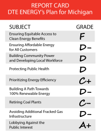 DTE Report Card