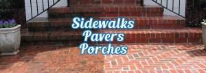 Power Washing Montclair, New Jersey - Sidewalks, Pavers, Porches