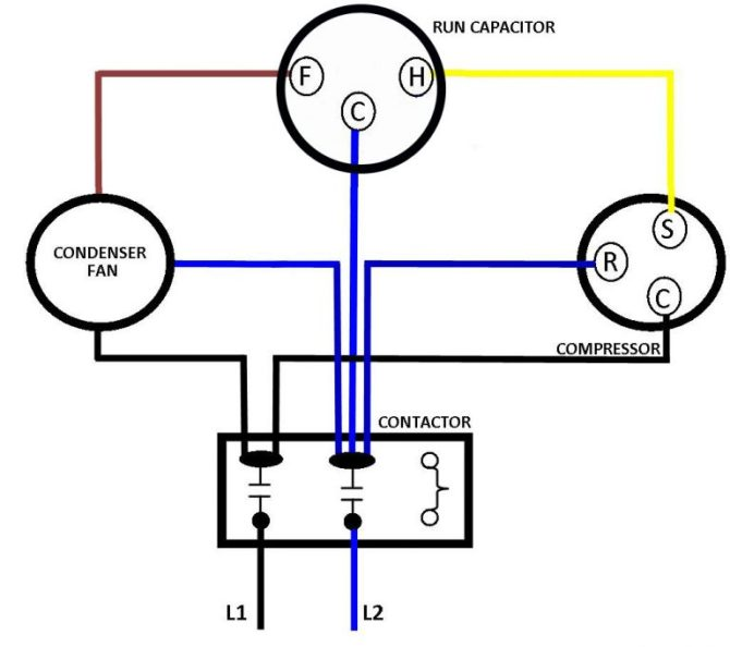 capacitor wiring  4 way dimmer switch wiring diagram for