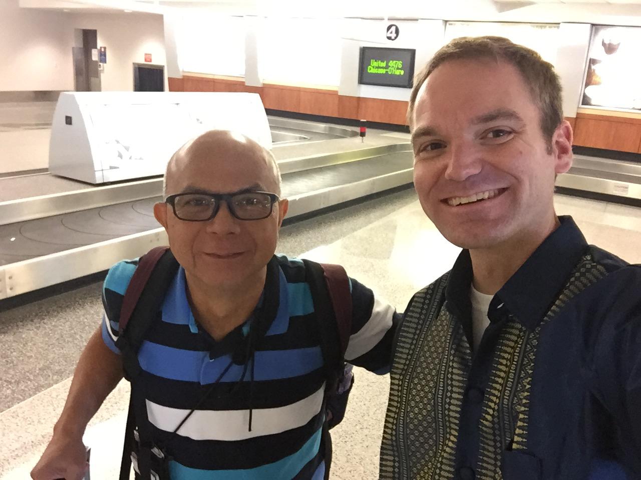 2017 Dr Romy and Pastor John