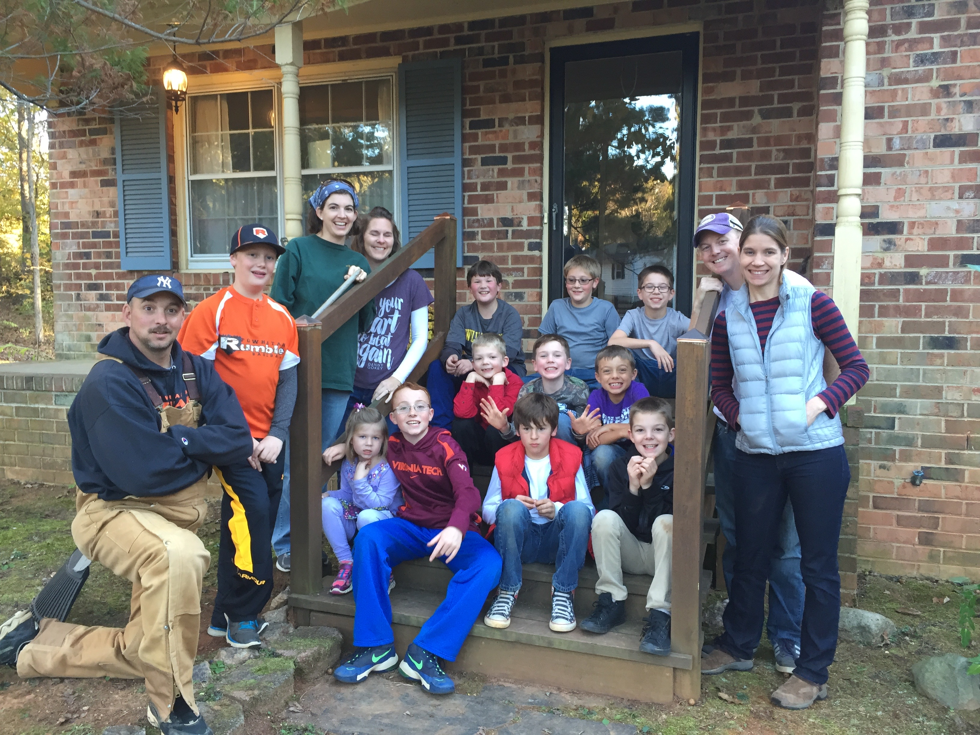 Kids With purpose yard cleanup(1)