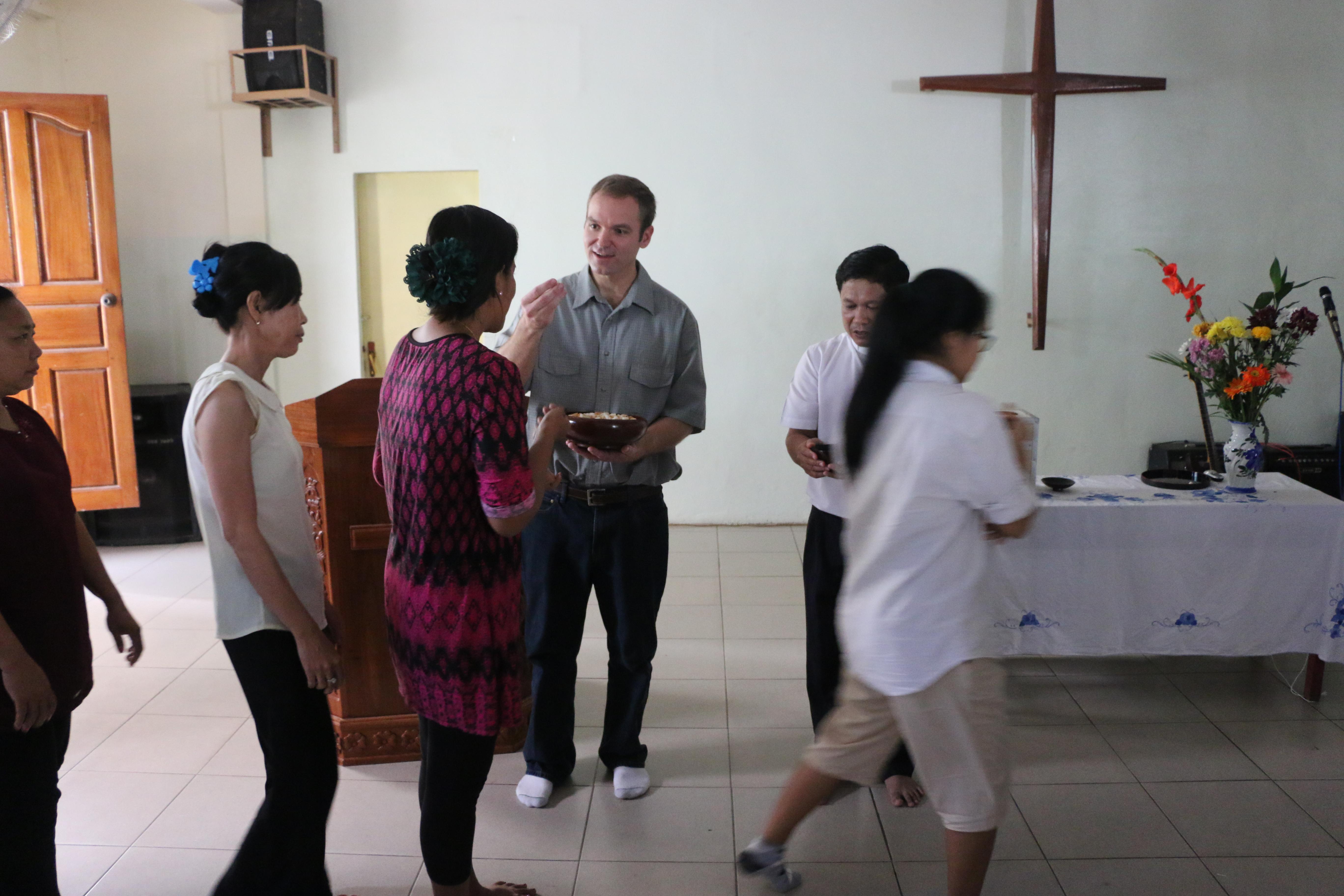 2017 Cambodia Communion
