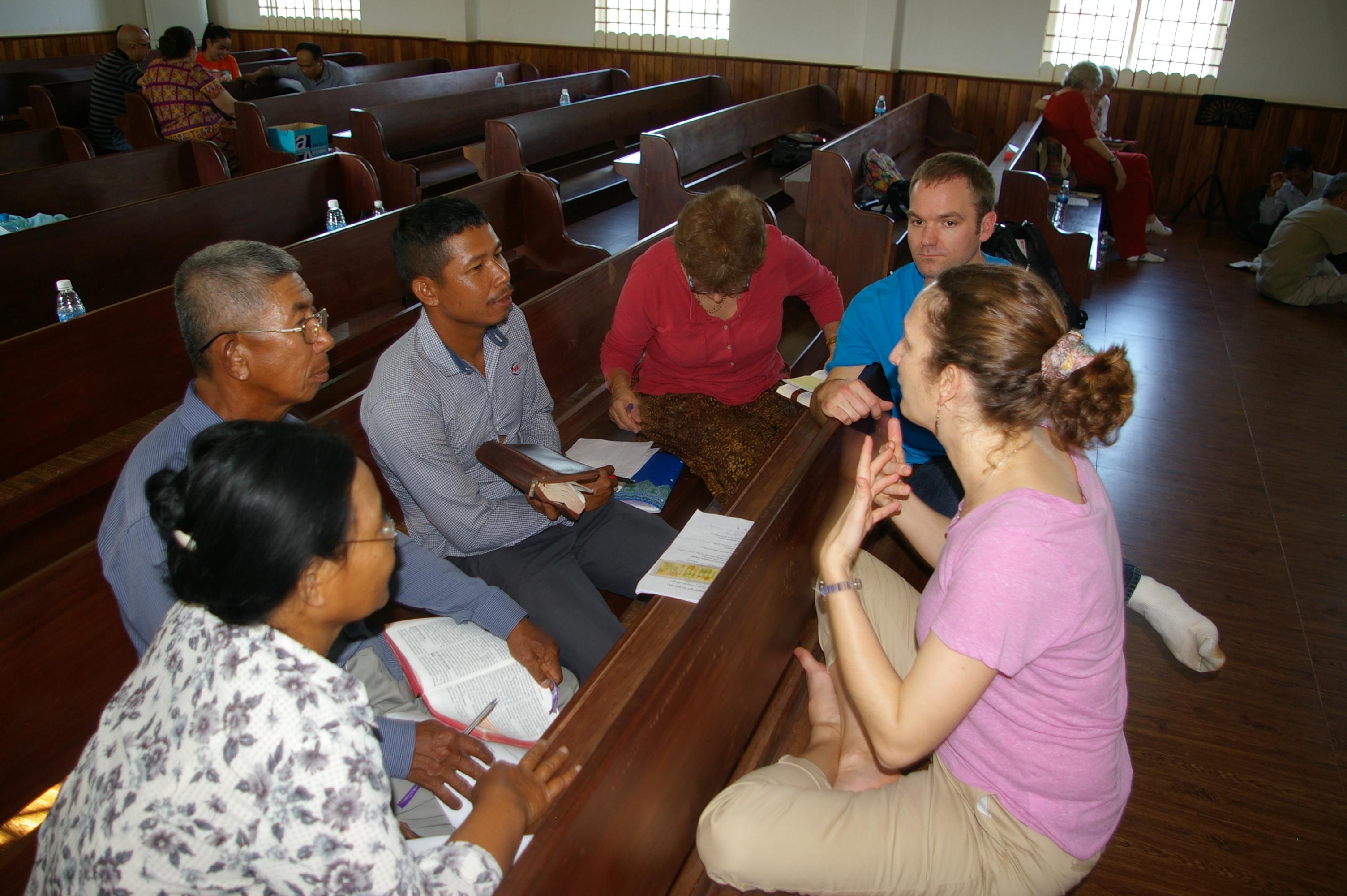 2017 Cambodia Bible Study